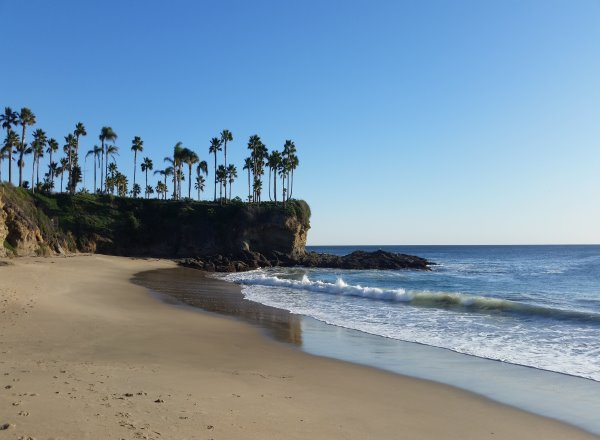 Crescent Bay Beach, North Laguna Beach Neighborhood