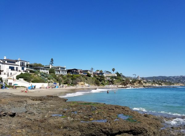 Shaws Cove, Coastline View, North laguna Beach Neighborhood of Laguna Beach CA