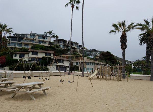 Emerald Bay Beach, Playground, Emerald Bay Neighborhood, Laguna Beach