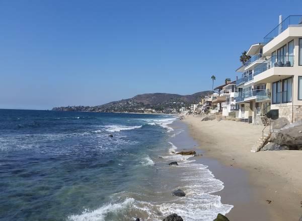 Brooks Street Beach Laguna Beach California Pacific Ocean