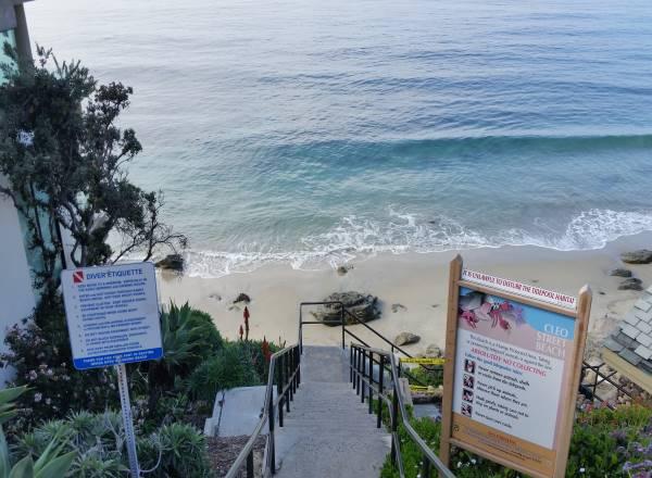 Cleo Street Beach Laguna Beach California Pacific Ocean