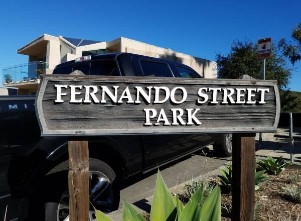 Fernando Street Park Laguna Beach LagunaBeachCommunity.com