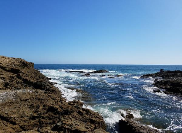 Twin Points Hidden Beach Laguna Beach California tide pools pacific ocean