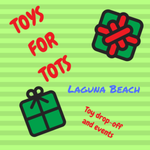 TOYS FOR TOTS Laguna Beach U.S. Marine Corps Reserves