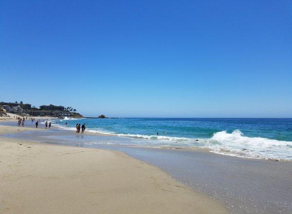 Lagunita Beach Laguna Beach Sand Water