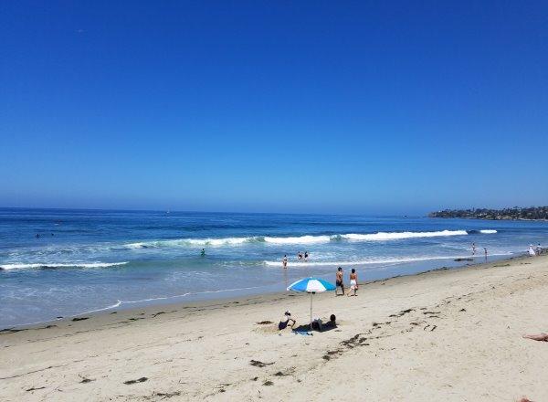 St Anns Street Beach Laguna Beach California