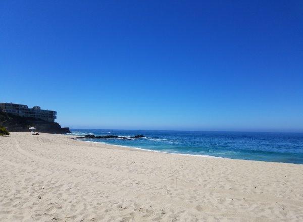 large sandy beach laguna beach west street beach