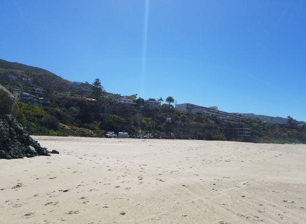 large sandy beach west street beach laguna beach ca