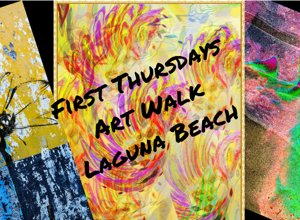 First Thursdays Art Walk March 2018 Laguna Beach California
