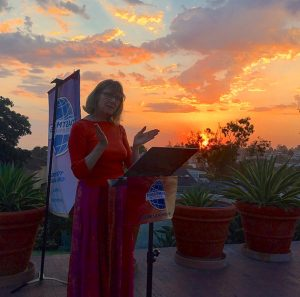 Laguna Beach toastmaster Sunset BBQ
