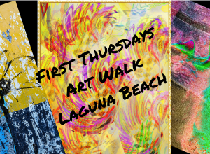 First Thursdays Art Walk Octover 4 2018 Laguna Beach