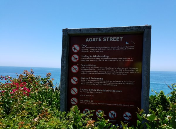 Agate Street Beach Laguna Beach Community