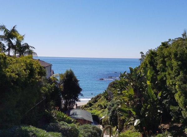 Shaw's Cove, Laguna Beach Coastline View, North laguna Beach Neighborhood of Laguna Beach CA