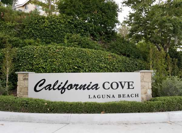 The California Cove Neighborhood, Laguna Beach