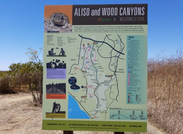 Aliso Wood Canyons Wilderness Park Laguna Beach California LagunaBeachCommunity.com