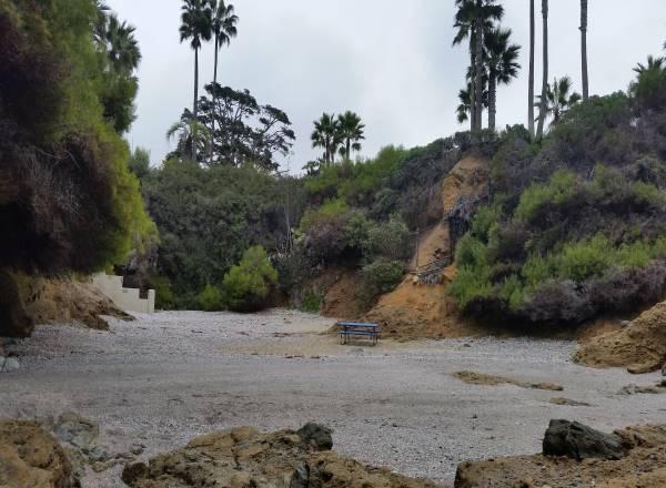 Twin Points Hidden Beach Laguna Beach California tide pools pacific ocean