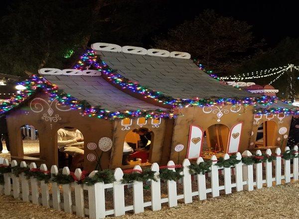 Winter Fantasy Sawdust Festival Laguna Beach arts crafts gingerbread house holiday fun