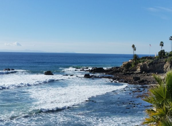 Monument Point Beach Laguna Beach California Orange County So Cal Beaches Rockpile Beach