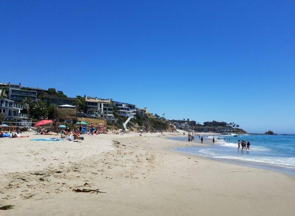 Sand Water Lagunita Beach Laguna Beach