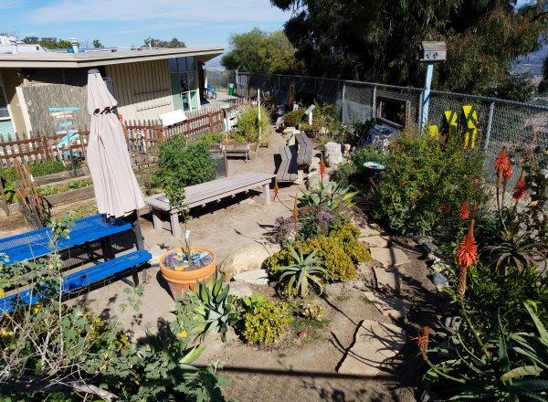 Top of the World Elementary School Gardens Laguna Beach California Orange County Schools