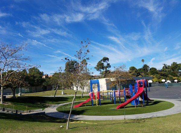 Top of the World Elementary School Playground Laguna Beach California Orange County