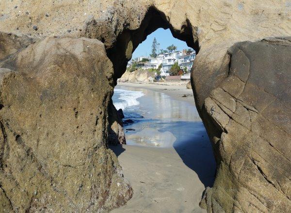 keyhole pearl street beach laguna beach ca
