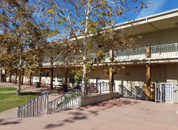 Laguna Beach High School Classrooms Laguna Beach California Orange County