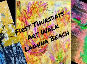 First Thursdays Art Walk March 2018 Laguna Beach California