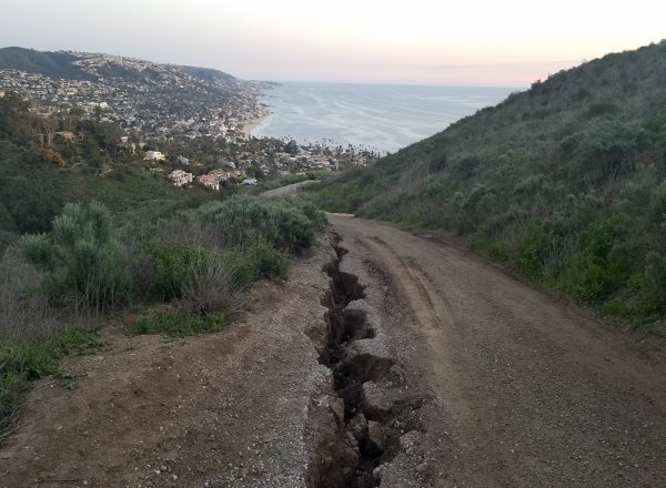 Laguna Beach News Wilderness Trails Closed