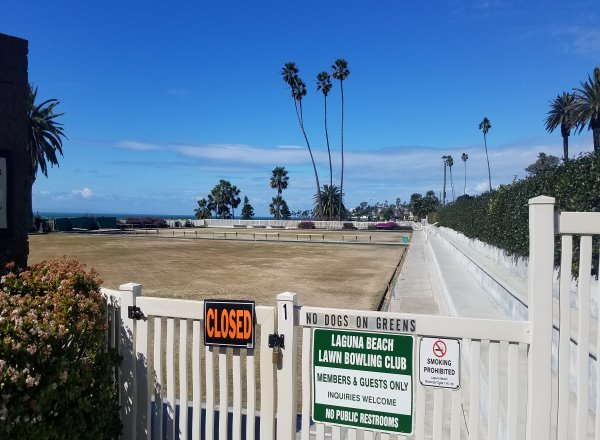 Laguna Beach News Bowling Greens Closed Today